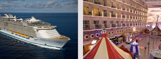 Schitterende honeymoon cruise met de Oasis of the Seas
