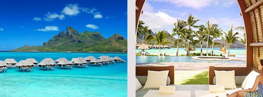 Een adembenemende honeymoon naar het Four Seasons Resort Bora Bora.