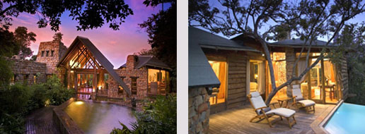 Een luxe honeymoon naar de Tsala Treetop Lodge.